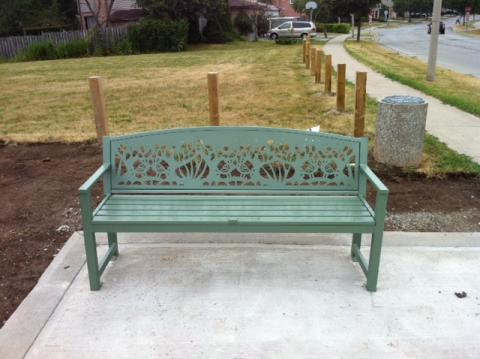 Asli Alin, Birds, public art bench