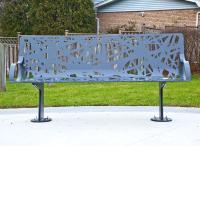 Ibrahim Rashid, Bird's Nest, public art bench