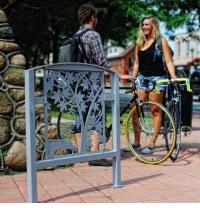 Public art bike rack series, Untitled